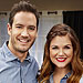 Zack and Kelly, Back Together! Tiffani Thiessen and Mark-Paul Gosselaar Reunite (Decked Out In Denim) for Her Cooking Show
