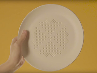 This Dinner Plate Promises to Cut Calories as You Eat Your Meal – Here's How it Works