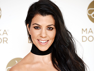 You'll Never Guess How Kourtney Kardashian Chooses Fabrics for Her Home