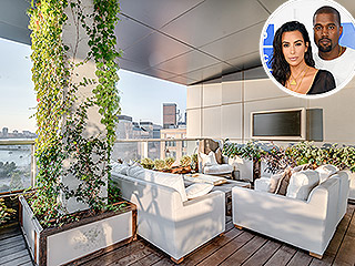 Inside the $25 Million NYC Penthouse Kim Kardashian and Kanye West Are Living in for Free