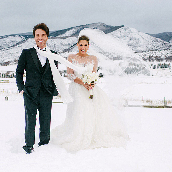 Richard Marx and Daisy Fuentes Tie the Knot in Aspen