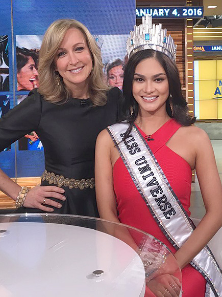 Miss Universe Thinks It Would Be 'Difficult' To Share the Crown