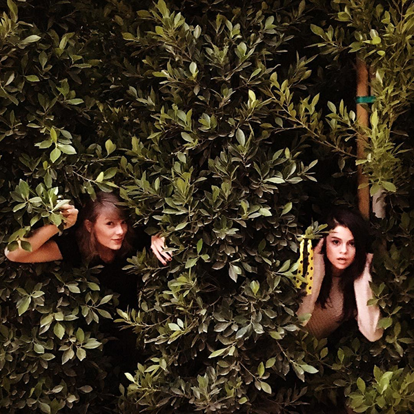 Taylor Swift and Selena Gomez Recreate 'Out of the Woods' Music Video