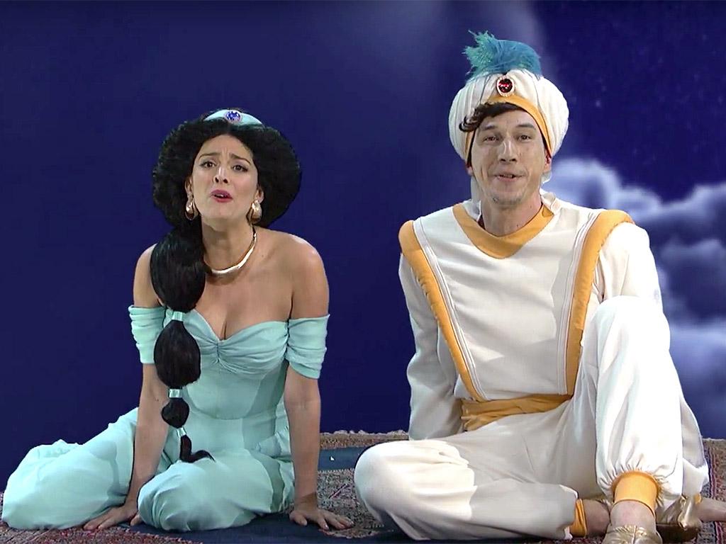 SNL Adam Driver Plays Aladdin In Magic Carpet Ride Skit