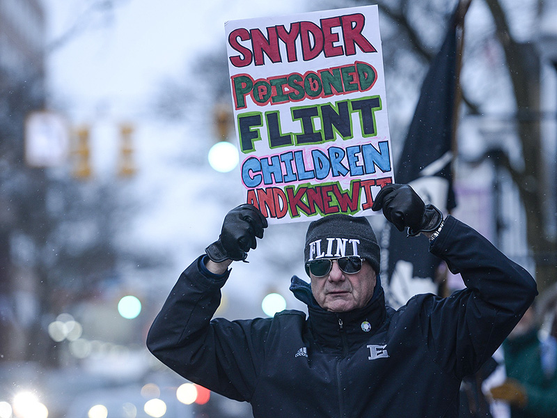 Flint Residents File Class-Action Lawsuit Against Gov. Rick Snyder