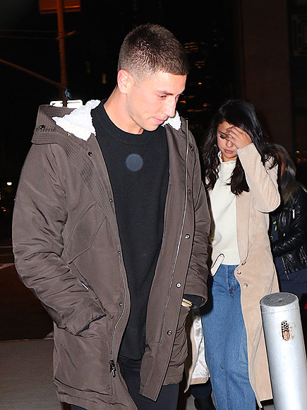 Selena Gomez Heads to Dinner with Samuel Krost and Friends in NYC