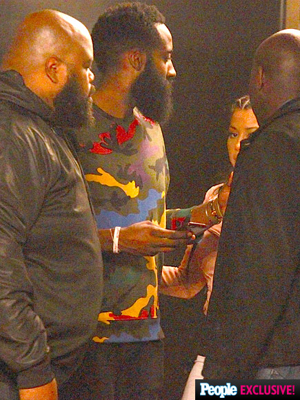 tyga and james harden hit ace of diamonds strip club