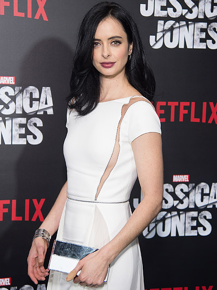 Jessica Jones: Krysten Ritter on Sex Scenes with Mike Colter