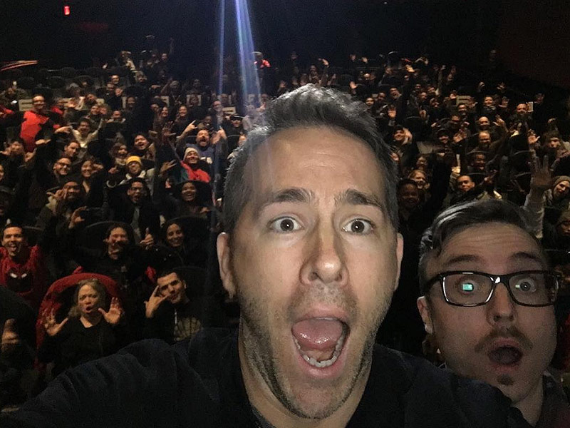 Ryan Reynolds and Blake Lively Surprise Deadpool Fans with Advance Screening