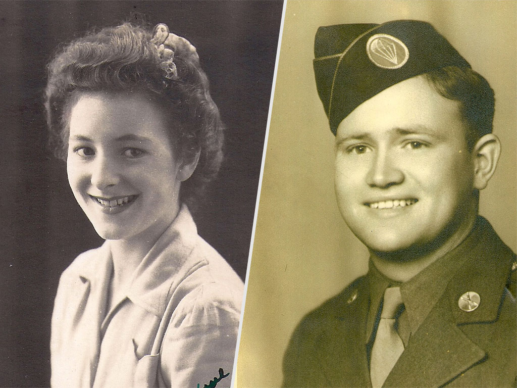 After Whirlwind Reunion with His Wartime Love, WWII Veteran Returns Home
