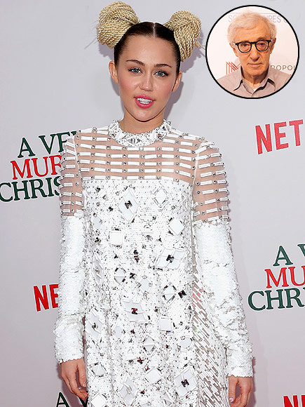 Miley Cyrus Will Star in Woody Allen's New Series on Amazon