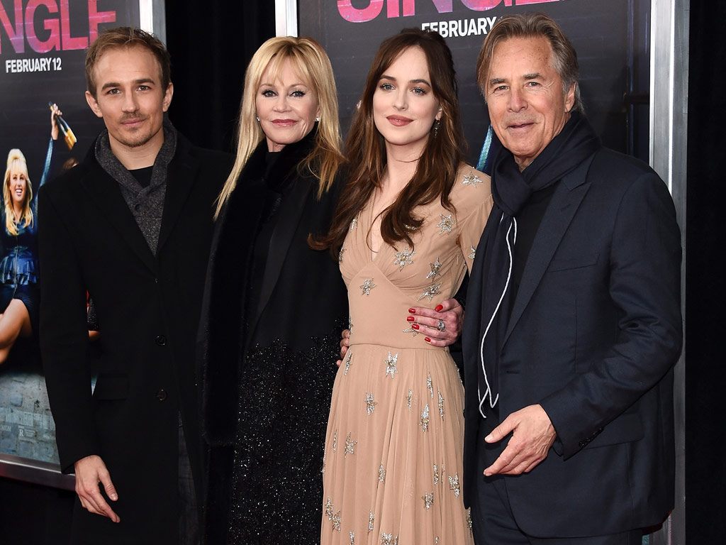 Melanie Griffith and Don Johnson Support Dakota Johnson at NYC Premiere