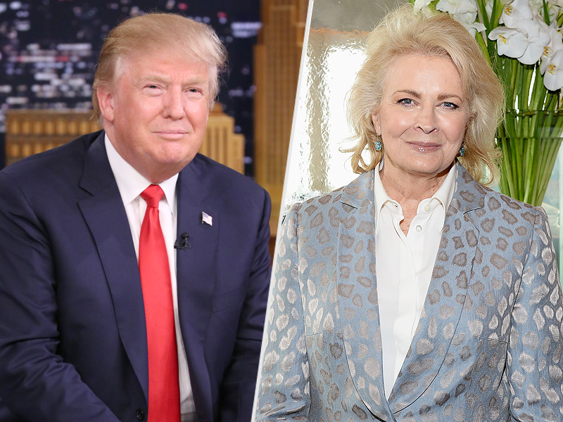 Candice Bergen on Dating Donald Trump