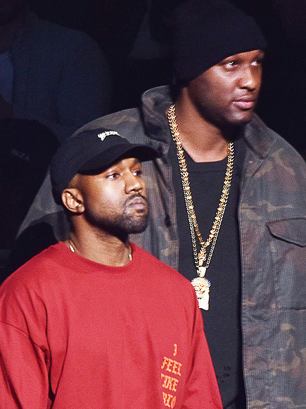 Lamar Odom Walks into Kanye West's Fashion Show: 'No One Deserves It More,' Source Says of Miraculous Recovery