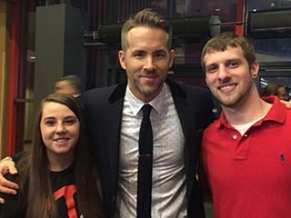 Ryan Reynolds' Diehard Deadpool Fan in Wisdom Teeth Video Spills About Premiere: 'I Was Freaking Out'