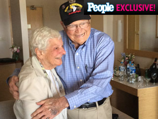 WWII Vet on Finding Love Again with Long-Lost Wartime Sweetheart: 'I Don't Think It Ever Died'