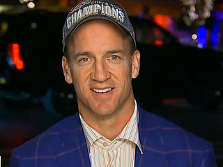 Denver Brancos Quarterback Peyton Manning Say He is 'At Peace,' But Hasn't Made a Decision About Retiring from NFL