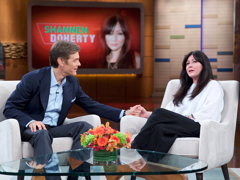 Shannen Doherty Talks Breast Cancer Battle on Dr. Oz Show