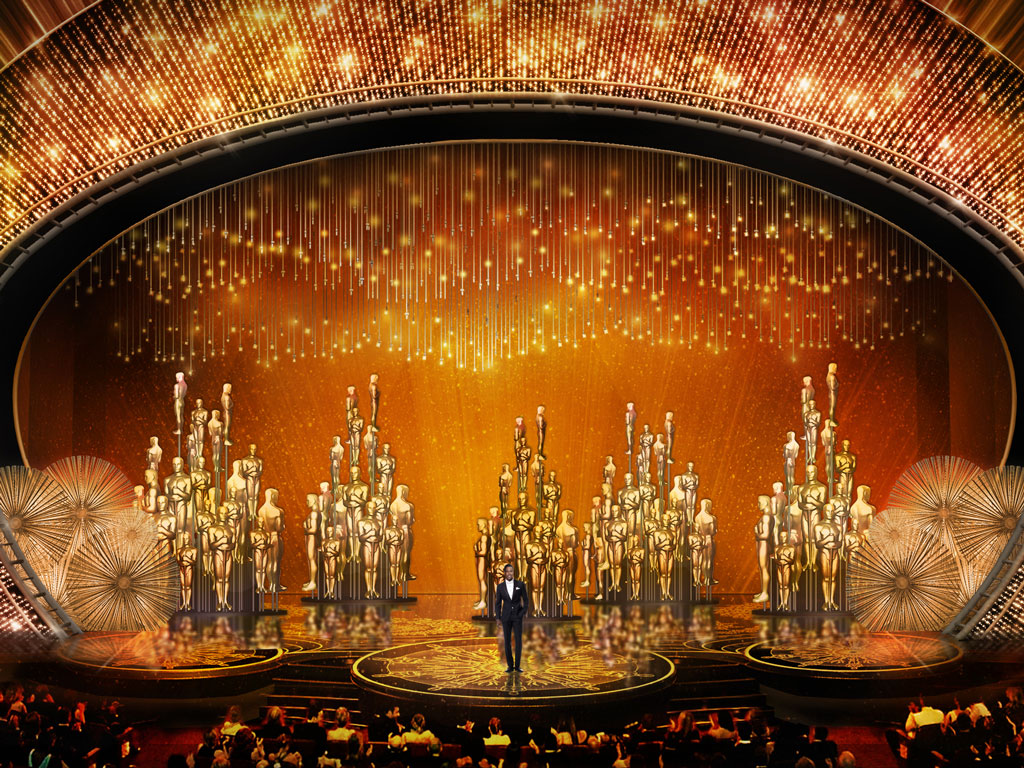 First Look at This Year's Oscars Stage Design