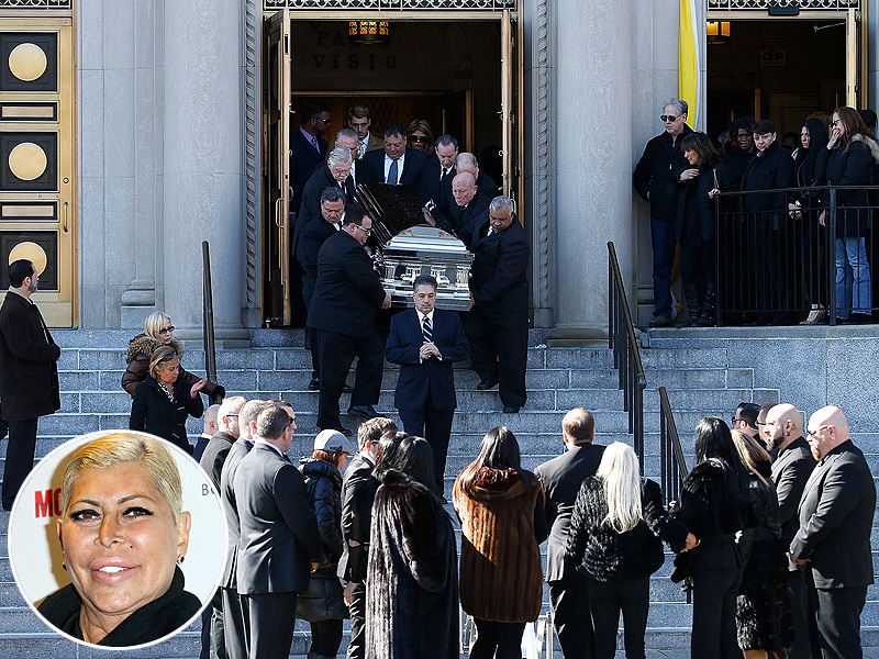 Big Ang Dead: Mob Wives Costars, Family Attend Angela Raiola Funeral