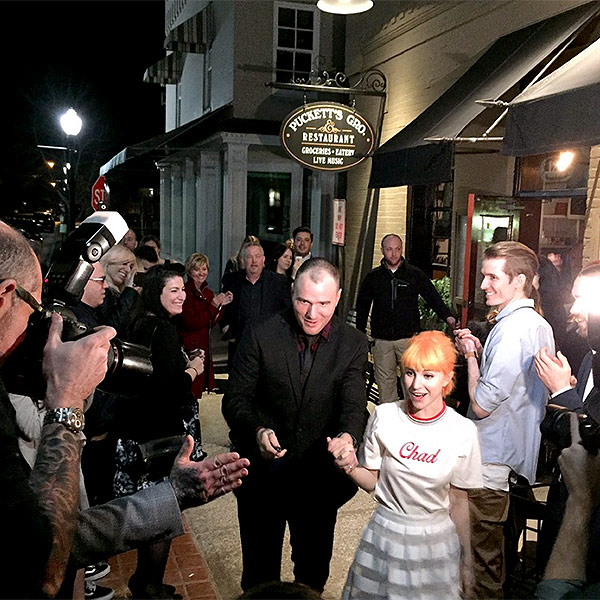 Hayley Williams and Chad Gilbert Married in Nashville