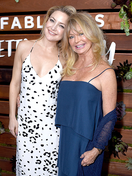 Goldie Hawn and Kurt Russell Step Out to Support Kate Hudson