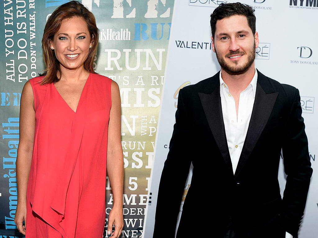 Dancing with the Stars: Ginger Zee Joins with Val Chmerkovskiy