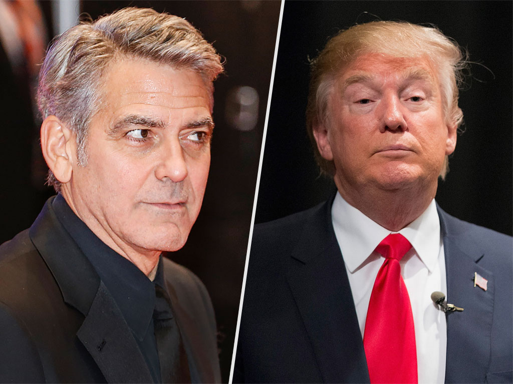 George Clooney Blasts Donald Trump: 'He's a Xenophobic Fascist'
