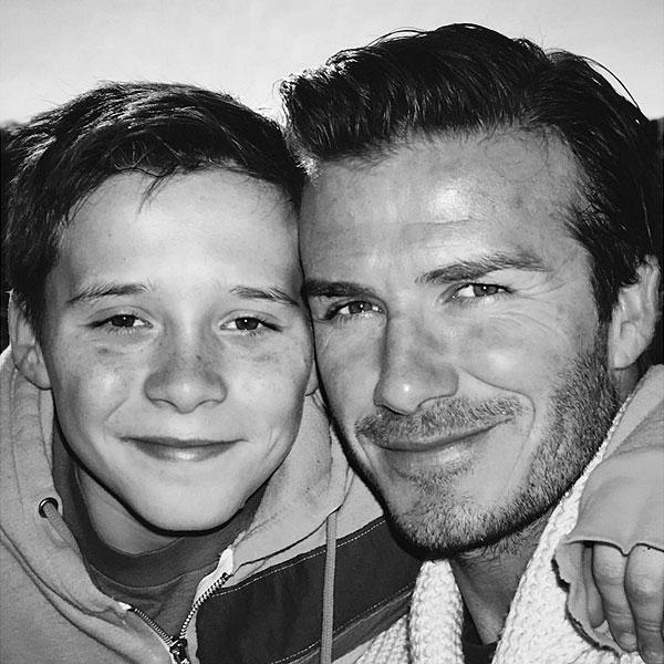 Victoria and David Beckham Wish Son Brooklyn Happy 17th Birthday on Instagram