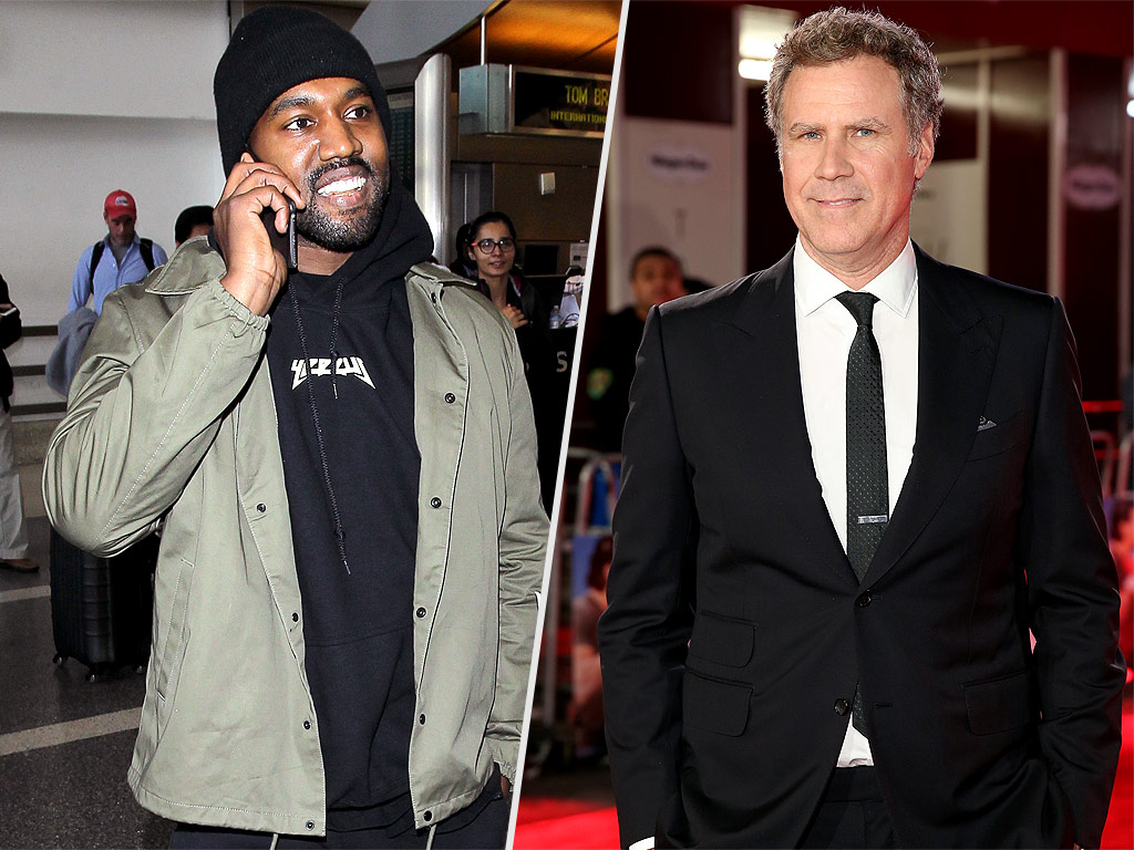 Kanye West Tweets about Will Ferrell's Zoolander 2 Performance