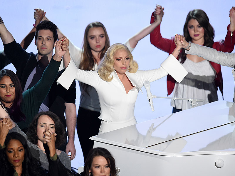 Oscars 2016: Sexual Assault Survivors Describe Taking Stage with Lady Gaga