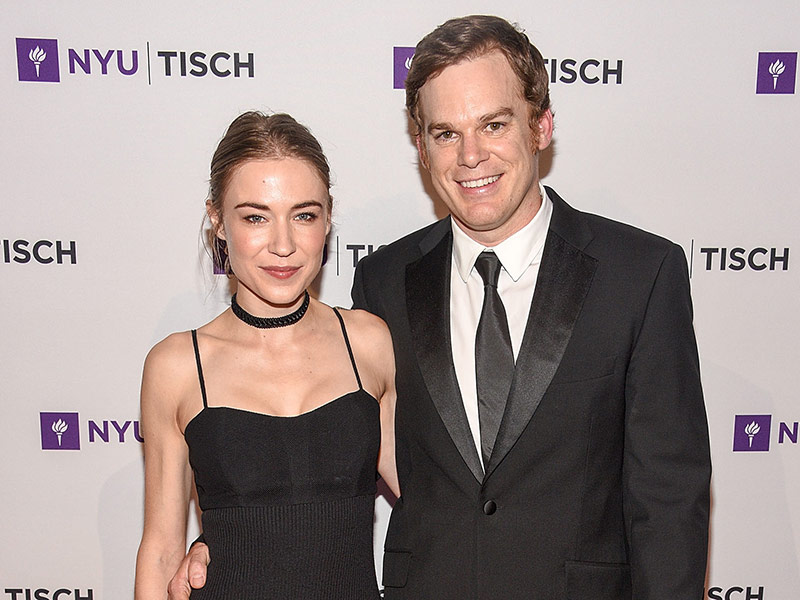 Michael C. Hall Marries Morgan Macgregor in City Hall Ceremony