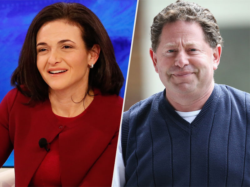 Facebook COO Sheryl Sandberg Dating Multibillionaire Bobby Kotick