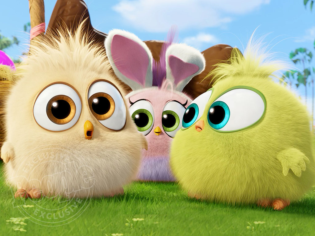 The Angry Birds Movie: See the Hatchlings in Easter-Themed Clip : People.com
