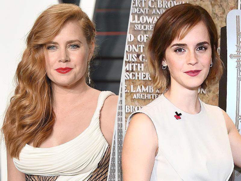 Amy Adams Praises Emma Watson's Crusade for Gender Equality, Talks Wage Gap