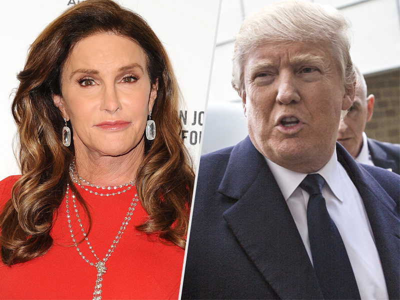 Trump Says Transgender People, Including Caitlyn Jenner, Can Use Any Bathroom