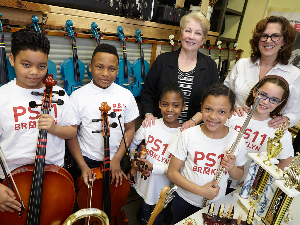 Widow of Music Store Owner Donates Over 100 Instruments to Schools