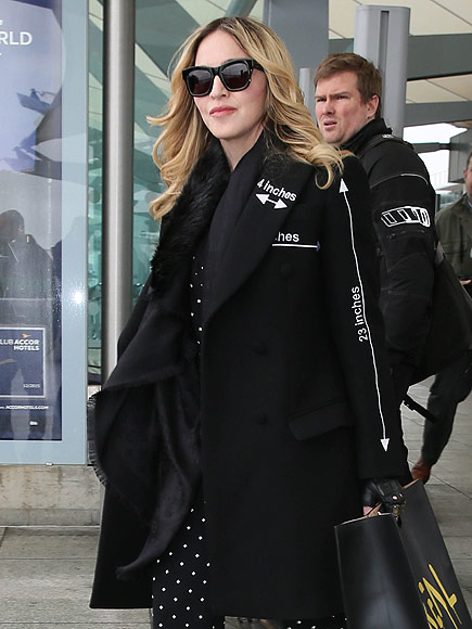 Madonna and Rocco Reconnecting in London