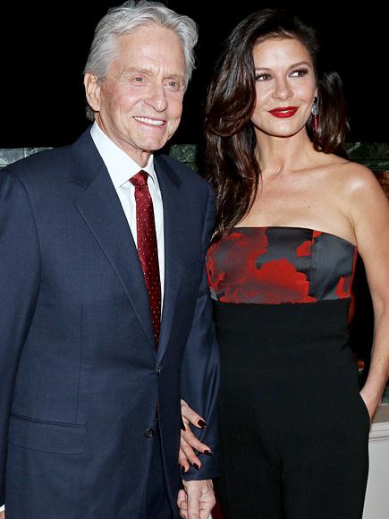 Michael Douglas Talks Family Vacation With Catherine Zeta-Jones