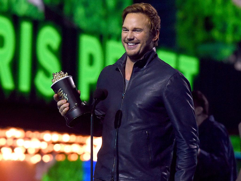 MTV Movie Awards: Chris Pratt Wins Best Action Performance, Thanks Anna Faris