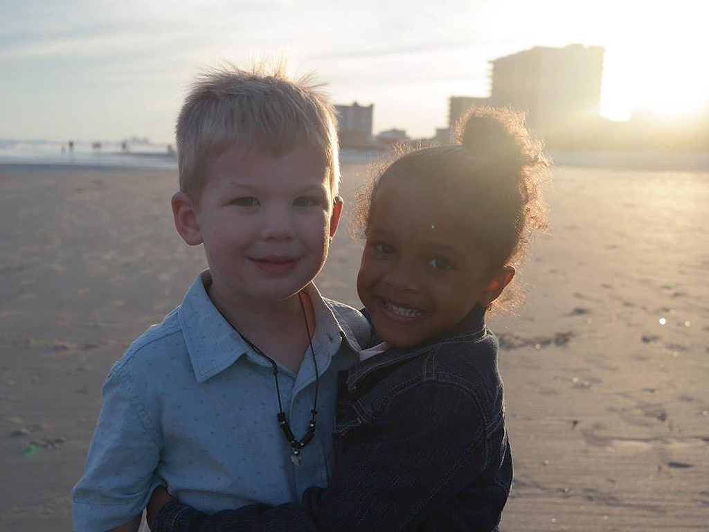 Mom's Sweet Facebook Post about Daughter Meeting a Boy on the Beach