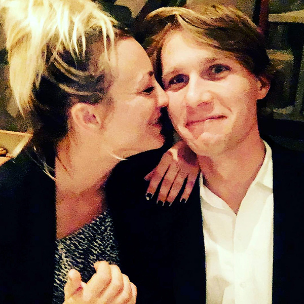 Kaley Cuoco Posts New Instagram Photo with Karl Cook