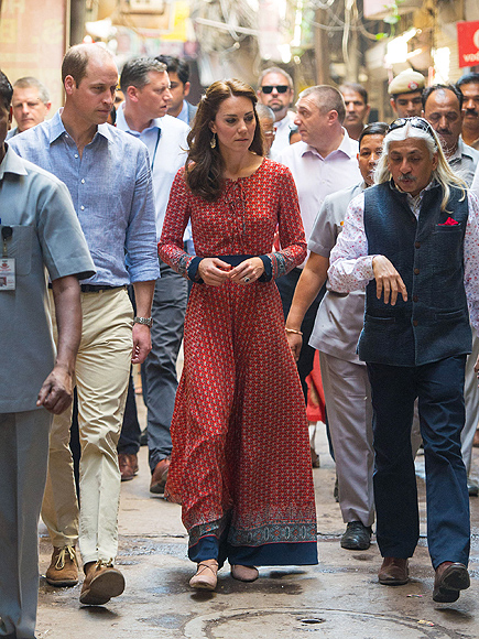 Prince William, Princess Kate Meet Female Victims of Acid Attacks in India