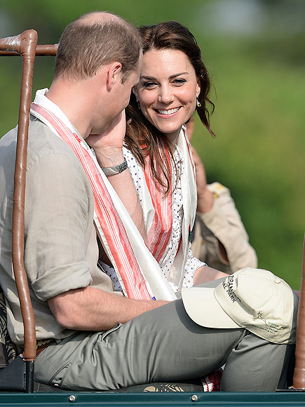 Royal Couple Goes on Safari During India Trip