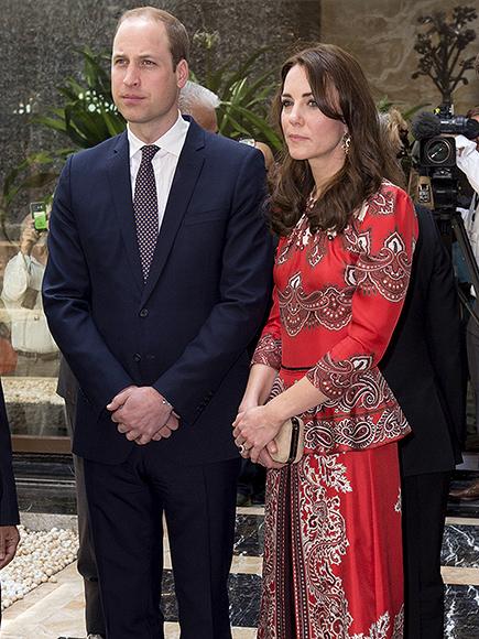 Princess Kate Kicks off Royal Tour of India in Alexander McQueen