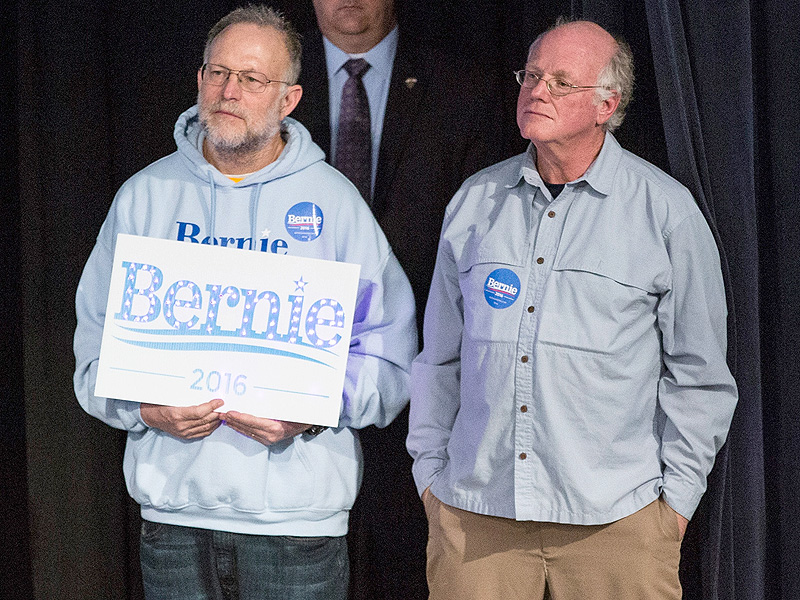 Ben & Jerry's Co-Founders Arrested During Protest