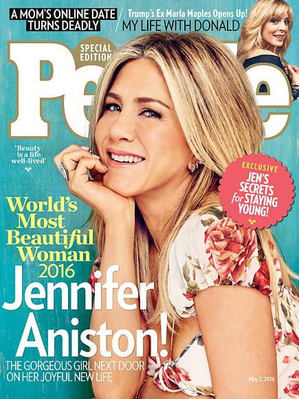 WATCH: Jennifer Aniston Is PEOPLE's 2016 World's Most Beautiful Woman!