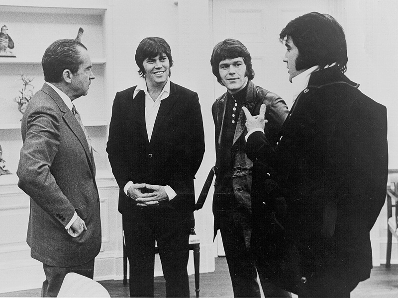 Clint Hill Describes the Time Elvis Presley Visited Richard Nixon at White House