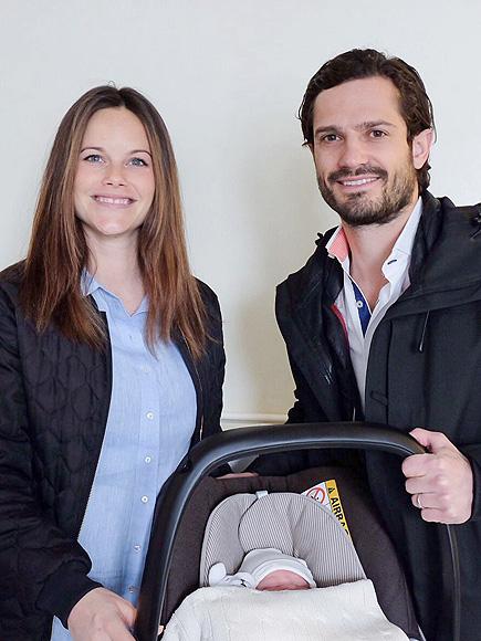Prince Carl Philip and Princess Sofia Reveal Royal Baby Name, Prince Alexander