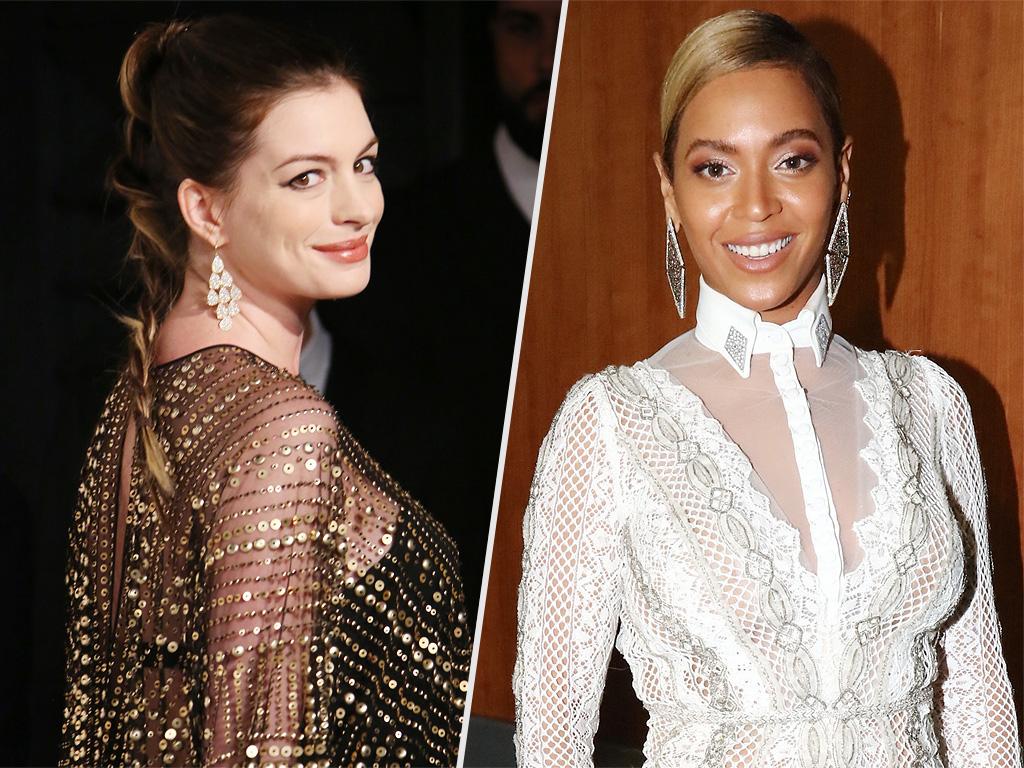 Anne Hathaway Praises Beyonce for Lemonade